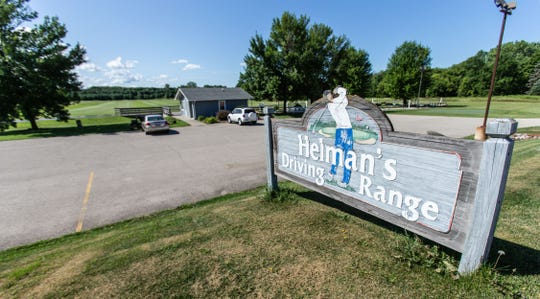 The former Menomonee Falls' Helman's Driving Range & Mini Golf facility could be the home of the village's first development zoned for R-7, which small lot sizes.