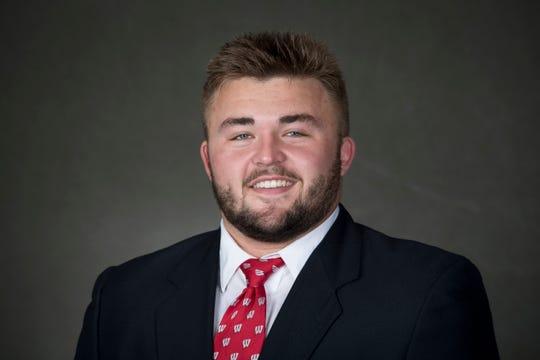 Wisconsin football player Josh Seltzner