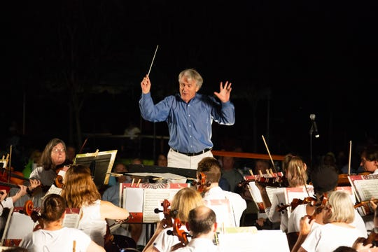 Maestro Thomas Hinds will lead the Montgomery Symphony Orchestra on Aug. 29 at Blount Cultural Park.