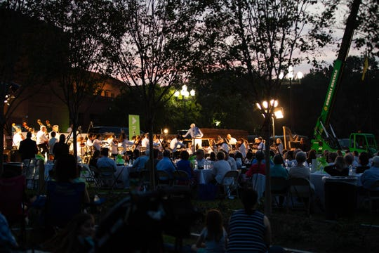 The Montgomery Symphony Orchestra presents its annual Broadway Under the Stars Pops concert Aug. 29 at Blount Cultural Park.