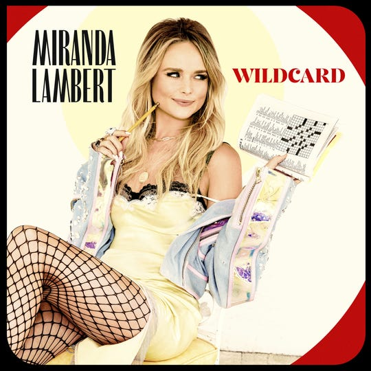 Miranda Lambert's new album 'Wildcard' arrives Nov. 1.
