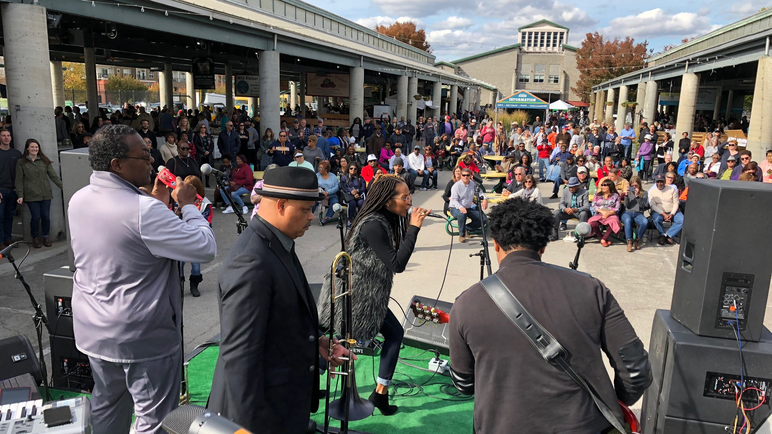 Free things to do in Nashville: Turnip Green Fest, art crawls, music and good sales