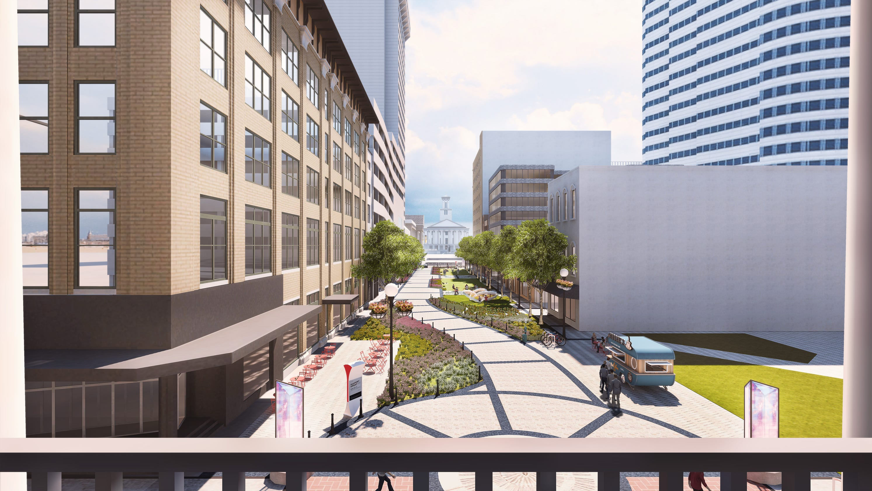 Downtown developers duel over future of historic Nashville corridor