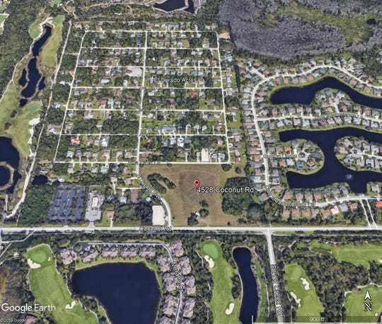 An 8.4-acre property could hold 23 single-family homes on Coconut Road near El Dorado Acres.