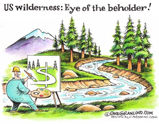 A vision of U.S. wilderness.