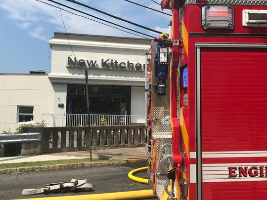 Chinese restaurant New Kitchen in Cedar Grove NJ catches fire