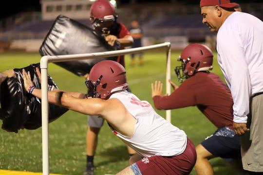 Wildcat linemen will be a key element to the team success at Deming High School.