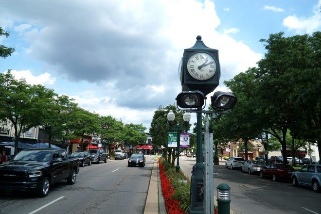 Plymouth's Main Street near Kellogg Park.