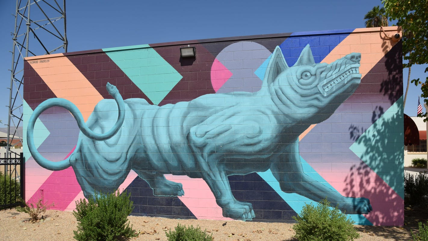 Can you find all of these east valley murals? Take a driving tour to discover local art