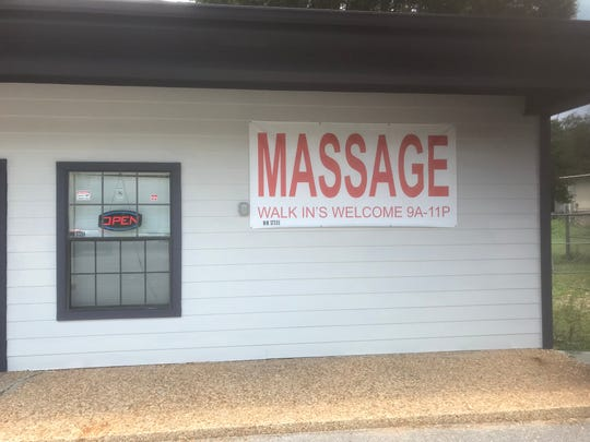 "Asia Pro Walk-In Massage Parlor at 127 N. New Warrington Road was one of the subjects of an FBI ""court-authorized law enforcement activity"" on Thursday."