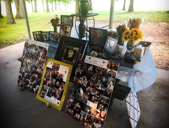Nicole's family and friends held a memorial service for her in September 2018.