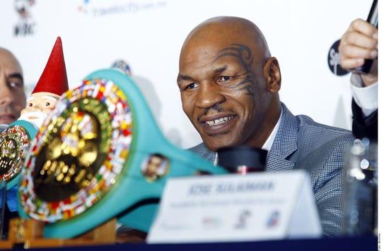 Mike Tyson, leyenda del boxeo.