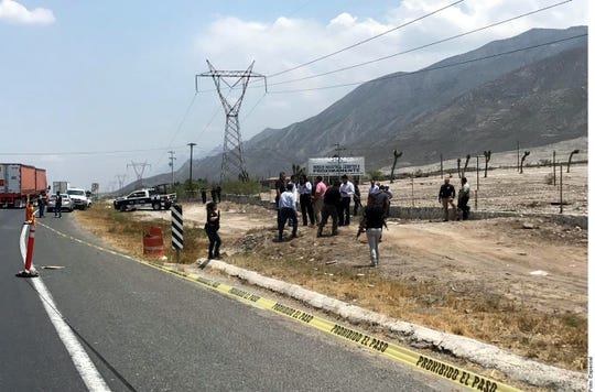 Una fuente policiaca informó que el cuerpo de Decker Alexander Martínez Martínez, de 3 meses, fue encontrado a la altura del kilómetro 25.4 de la Carretera Libre a Saltillo.