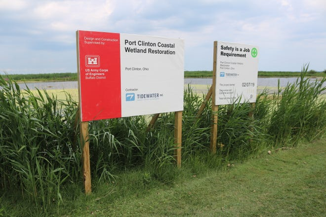 Excavation work on the $1.2 million wetlands restoration project is expected to begin on Monday, Nov. 4.