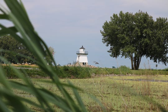 The $1.2 million wetlands restoration project funded primarily by the U.S. Army Corps of Engineers, who have also been working with city administrators on it, has been delayed due to Lake Erie's high-water levels.