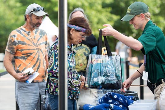 The Bethel Woods Center for the Arts is enforcing its clear bag policy for the Woodstock 50th anniversary celebration.