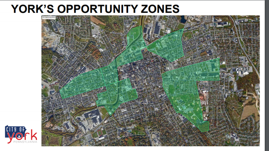 York City's opportunity zones.