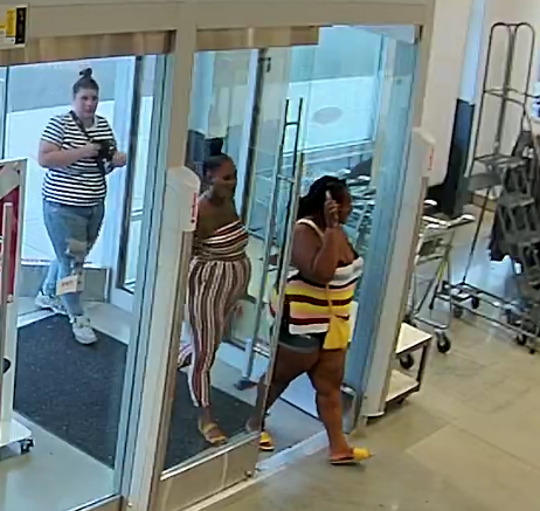 Three women suspected of theft at the Old Navy in Manchester Township.
