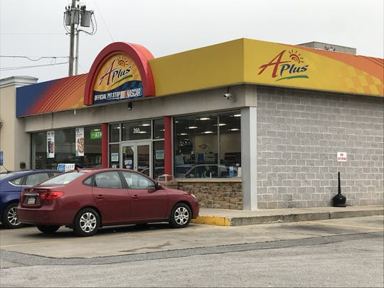 The A-Plus convenience store and Sunoco in the 200 block of North Sherman Street in York was robbed early Thursday morning. It was also robbed several days before, on Sunday, police said.