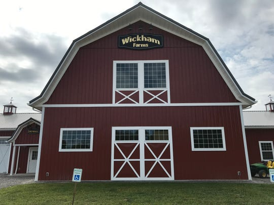 Wickham Farms reopens on Sweets Corners Road in Penfield on Aug. 17, 2019.