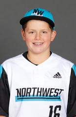 Avery Lohrman,  Sprague Little League All-Stars