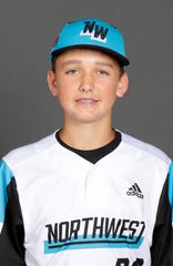 Carson McNally,  Sprague Little League All-Stars