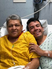 Gama and Aaron Gonzalez post-operation Aug. 1.