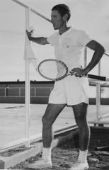 """Bernard """"Tut"""" Bartzen grew up in San Angelo and became a tennis legend. He became one of the top 10 players in the world and was a longtime coach at Texas Christian University. Bartzen passed away July 10, 2019 in Fort Worth at the age of 91."""