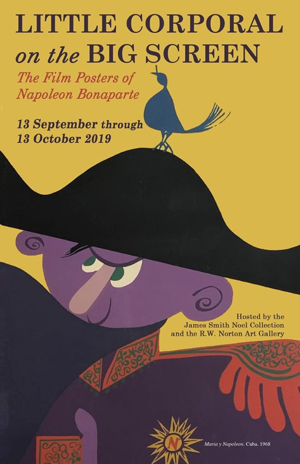 """""""Little Corporal on the Big Screen: The Film Posters of Napoleon Bonaparte,"""" presented by Noel Collection and Norton Art Gallery, will run from Sept. 13 to Oct. 13 at Norton Art Gallery."""