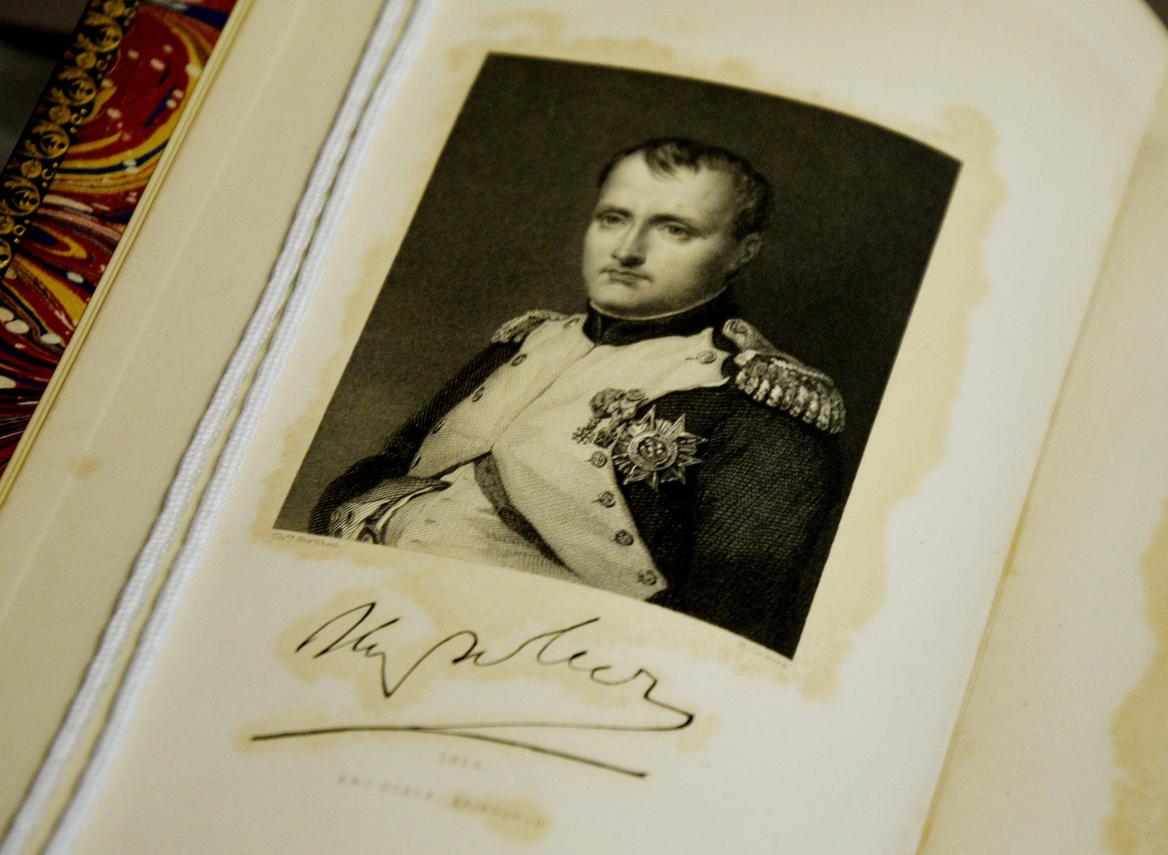 The Noel Collection's Napoleon exhibit is now at the Noel Memorial Library.