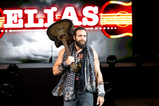Elias will appear during the WWE event on Tuesday at the Premier Center.