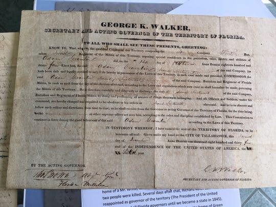 Historical document from the Gramling family.