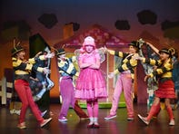 The cast of the South Carolina Children's Theatre's production of Pinkalicious The Musical held a dress rehearsal at the Gunther Theater on Wednesday, September 13, 2017.