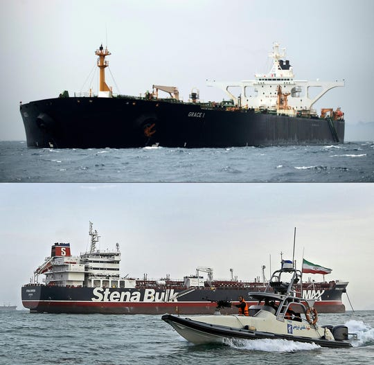 Westlake Legal Group 0221e91d-6ee0-4355-8073-39321ecff730-AFP_AFP_1JJ0SH U.S. issues warrant to seize Iran oil tanker 'Grace 1' after Gibraltar judge orders its release