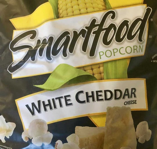 Smartfood White Cheddar Popcorn is light and flavorful.