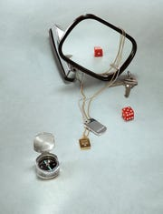 This undated product image provided by Tiffany & Company shows part of a jewelry collection for men by Tiffany & Co.