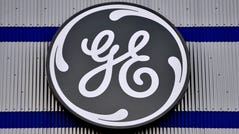 """(FILES) In this file photo taken on November 21, 2016 the logo of US company General Electric is seen at a factory of the group in Montoir-de-Bretagne, western France. - General Electric shares plunged on August 15, 2019 after an accounting expert accused the company of fraud, an allegation the industrial giant strongly denied.Harry Markopolos, who warned securities regulators about the Bernard Madoff investment scheme years before that firm went under, accused GE of """"running a decades long accounting fraud,"""" according to information on gefraud.com, a website set up by Markopolos and his associates. (Photo by LOIC VENANCE / AFP)LOIC VENANCE/AFP/Getty Images ORG XMIT: - ORIG FILE ID: AFP_1JK23H"""