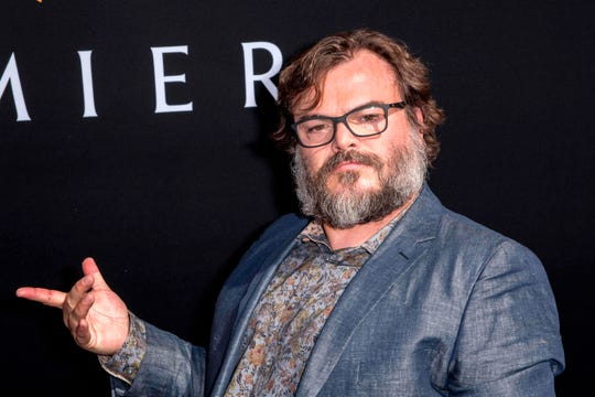 "US actor Jack Black attends the premiere of ""The House with a Clock in Its Walls"" at the Chinese theatre in Hollywood on September 16, 2018. (Photo by Nick Agro / AFP)NICK AGRO/AFP/Getty Images ORG XMIT: Premiere ORIG FILE ID: AFP_1956ES"