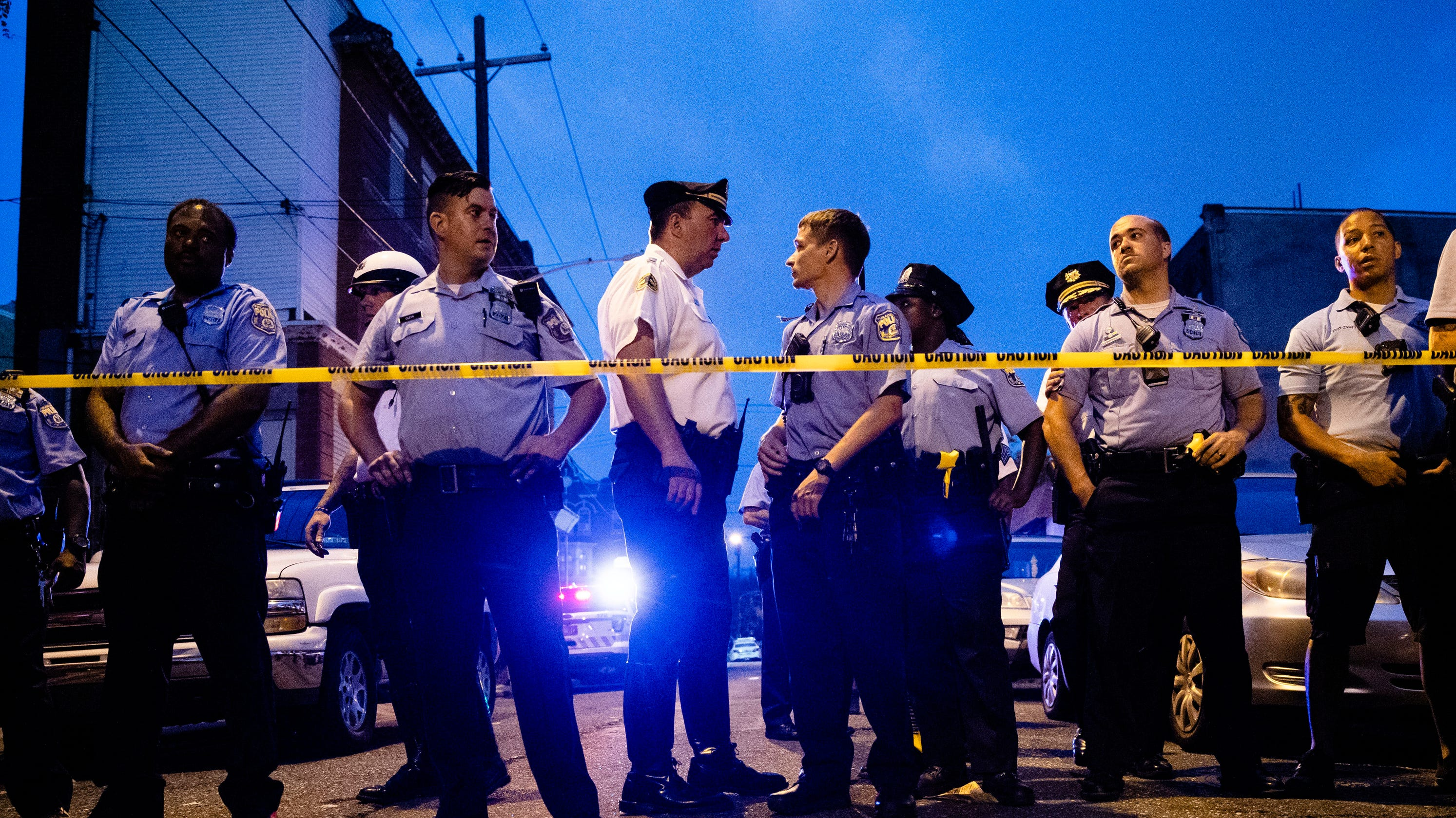 Philadelphia police shooting: 6 officers shot