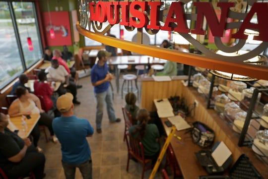 Popeyes Louisiana Kitchen did final training of its staff last week in Appleton.
