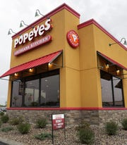 Popeyes Louisiana Kitchen is at 2800 W. College Ave. in Appleton.