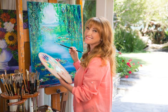 Jane Seymour will present her artwork in New Jersey over Labor Day weekend.