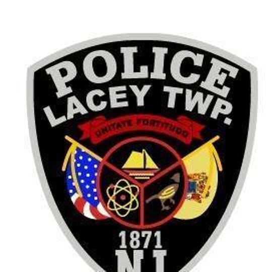 Lacey Township Police Department shield.