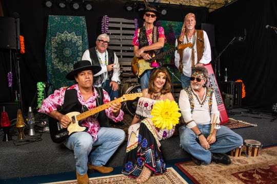 Paisley Craze specializes in the music of the 1960s and 1970s, and they have the outfits to prove it. The group headlines the Peace & Love Tour show Tuesday at Abilene's Paramount Theatre.