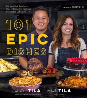 """""""101 Epic Dishes"""" by Jet Tila and Ali Tila"""