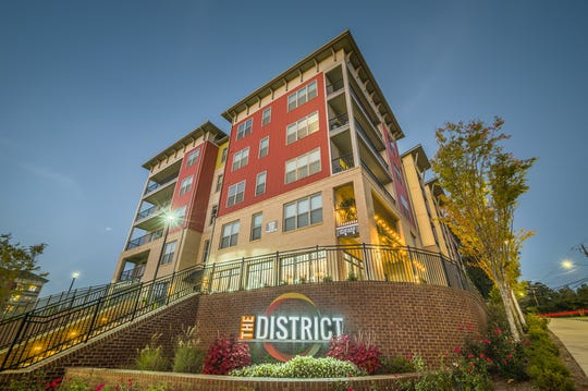 The District, a 309-unitmultifamily housing complex in Biltmore Village, recentlysold to a Chicago-based real estate investment company for $71.5 million.
