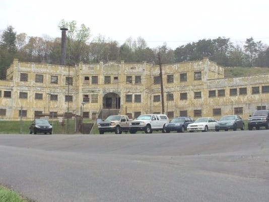 Old Craggy Prison in Woodfin was dedicated in 1924.The state has no plans as of now to tear it down or redevelop.