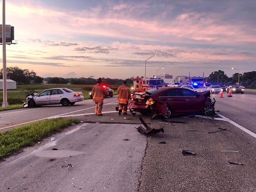 Interstate 95 northbound lanes now open after crash near