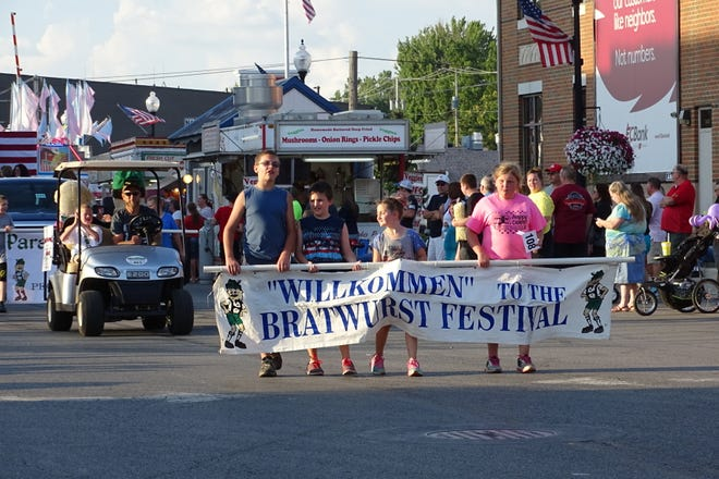 The 2019 Bucyrus Bratwurst Festival included three parades, one each evening of the event.
