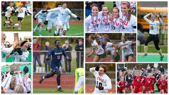 Who were the top Vermont high school soccer and field hockey teams of the 2010s?